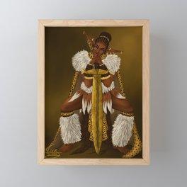 Zulu Elf Framed Mini Art Print