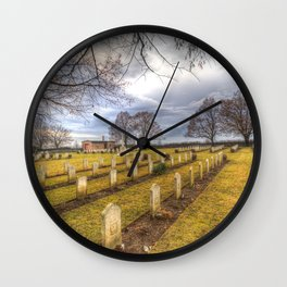 World War 2 War Graves Budapest Wall Clock