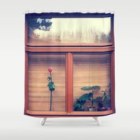 window Shower Curtains featuring window by Alfredo Rodriguez