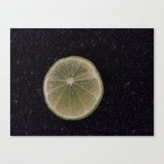 Lemon Moon Canvas Print