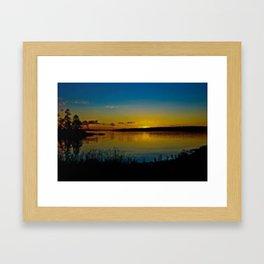 Sunset Bailey Island,Maine Framed Art Print