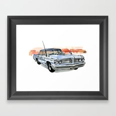 Old Pontiac Framed Art Print