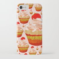 cupcakes iPhone & iPod Cases featuring Cupcakes by Alexandra Baker