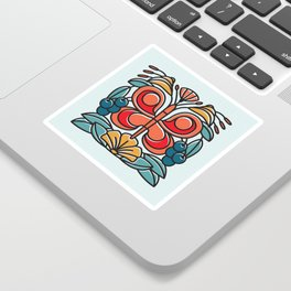 Butterfly tile Sticker