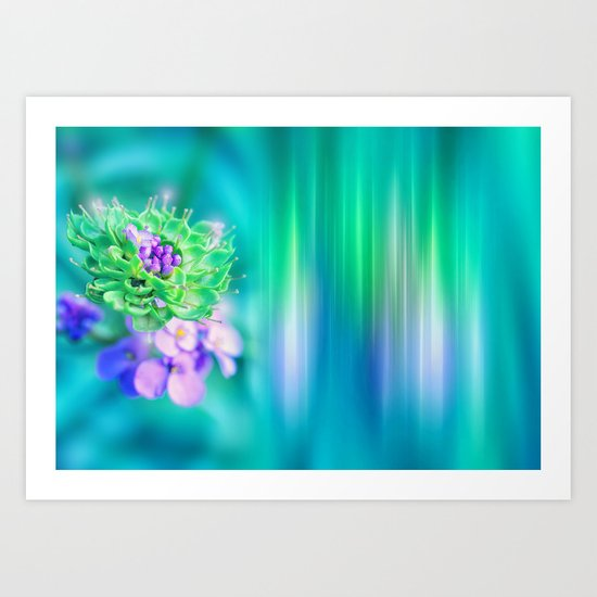 The Sound of Light and Color - MINT Art Print