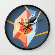 Held in Place Wall Clock