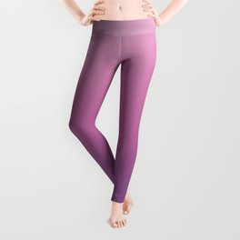 Pink Ultra Violet Ombre Gradient Pattern Leggings