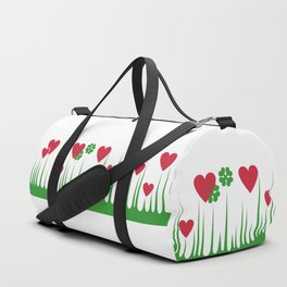 """""""Lucky in Love"""" Rare Pyrex Holy Grail Vintage Inspired Duffle Bag"""