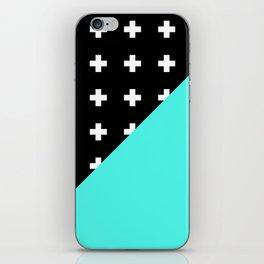 Memphis pattern 78 iPhone Skin