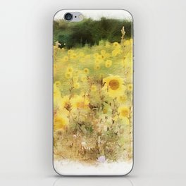 Field of Sunflowers iPhone Skin