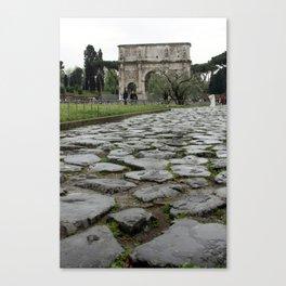Arco di Constantine Canvas Print
