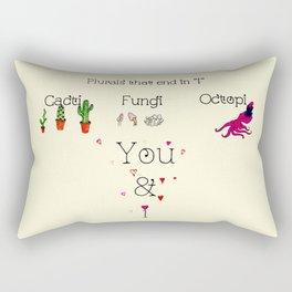 "Plurals That End In ""i"" Rectangular Pillow"