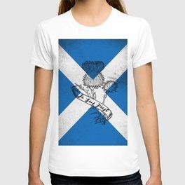 SCOTLAND FLAG JE SUIS PREST T-shirt