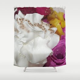 Dragon Rolled Ice Cream Shower Curtain