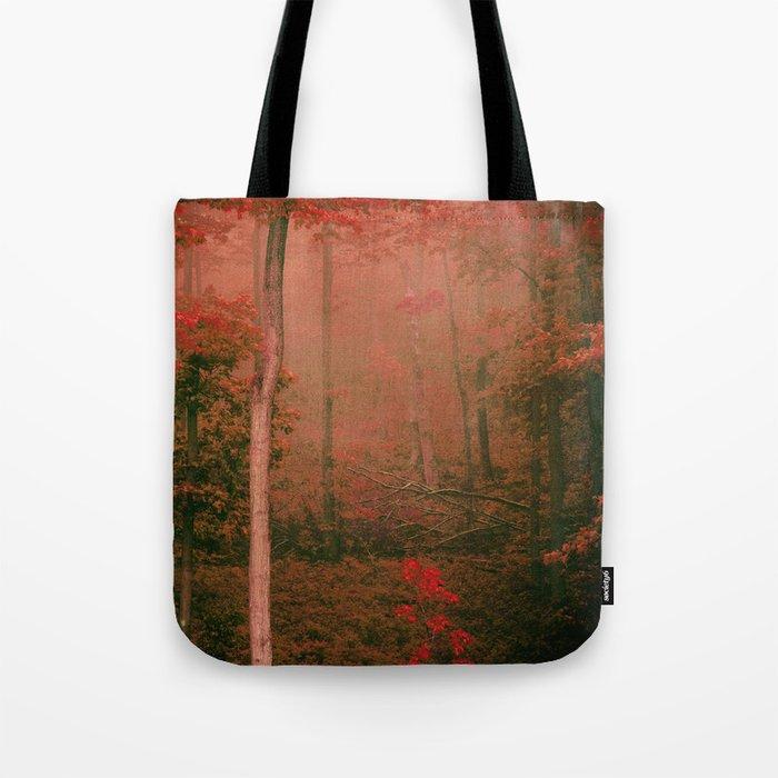 Autumn Fog Tote Bag
