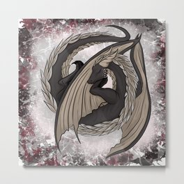 Deep slumber, broken dreams Metal Print
