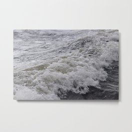 Wispy Wave of Loch Ness Metal Print