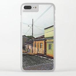 Rua dos Machado Clear iPhone Case