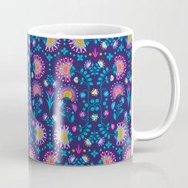 Folkloric In Blue Coffee Mug