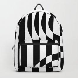 Hot Spot || Black & White Backpack