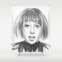 artpop Shower Curtains featuring ARTPOP by ArtLm