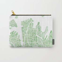 Sydney Australia watercolor city map Carry-All Pouch