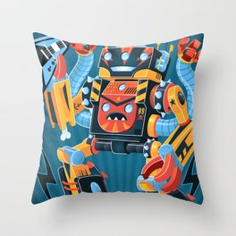 Death Metal Throw Pillow