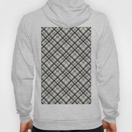 Squares and rectangles under the slope, checkered pattern. Hoody