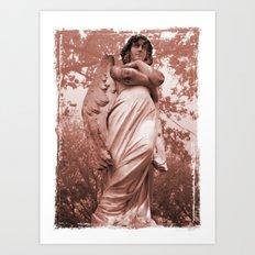 WallaAngelRust Art Print