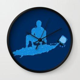 Water Surfer Wall Clock