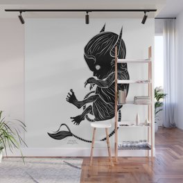 Little Devil (black version) Wall Mural