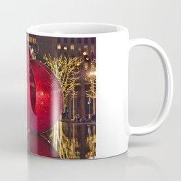 Christmas On 5th Avenue Manhattan 4 Coffee Mug