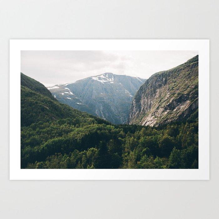 Norway VI Art Print