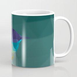 Low Poly Bird Coffee Mug