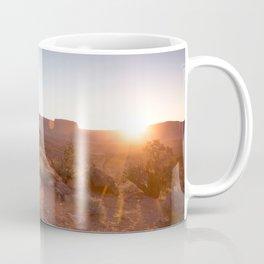 Setting Desert Sun Coffee Mug