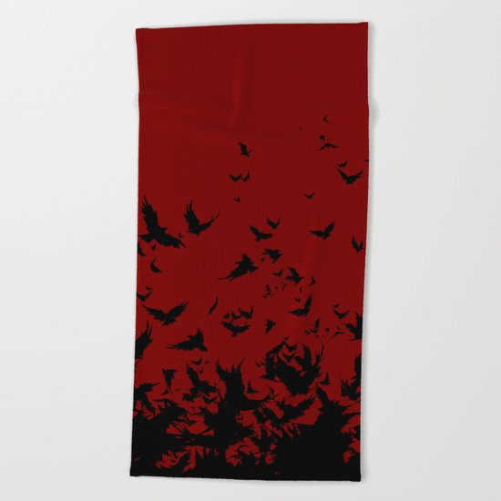 An Unkindness of Ravens Beach Towel