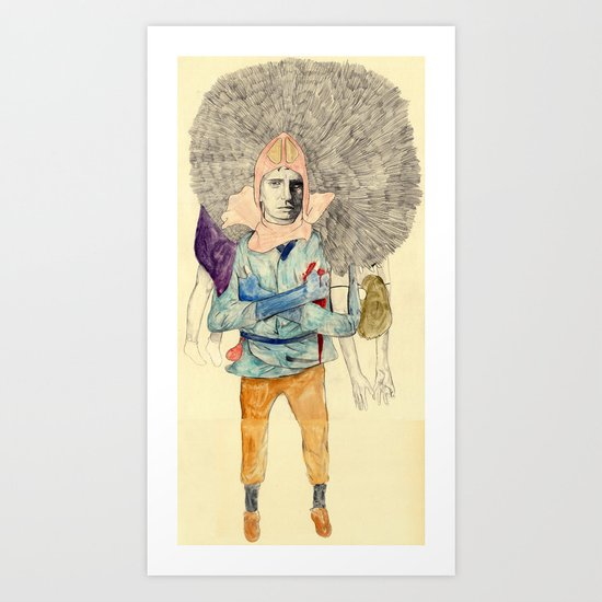 Ashitaka Art Print
