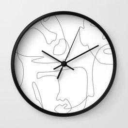 Sculpt Wall Clock