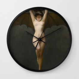 The Bat Woman Albert Joseph Pénot Wall Clock