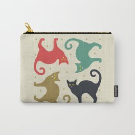 Cats and Cream Carry-All Pouch