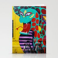 amsterdam Stationery Cards featuring Amsterdam by Laíz Jacon