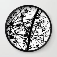 percy jackson Wall Clocks featuring Jackson  by Maite Pons