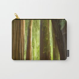 Redwood Abstract Carry-All Pouch