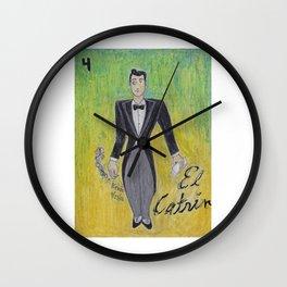 El Catrin Wall Clock