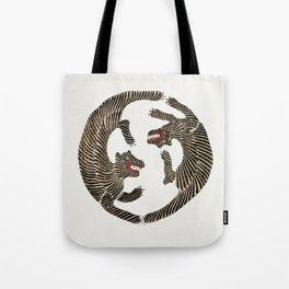 Japanese Tiger Tote Bag