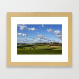 Views of Wiltshire. Framed Art Print