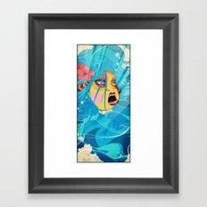 siren's dance Framed Art Print