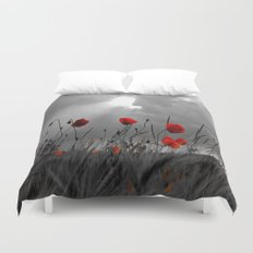 Only poppies... Duvet Cover