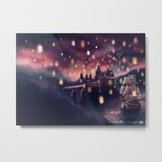 Lights for the Lost Princess Metal Print