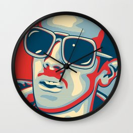 "Johnny Quid ""Hope"" Poster Wall Clock"